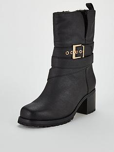 v-by-very-sinead-faux-fur-lined-strap-calf-boots-black