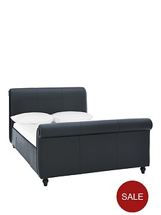 bilbao-fauxnbspleathernbspbed-frame-with-mattress-options-buy-and-save