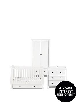 silver-cross-nostalgia-cot-bed-dresser-wardrobe-brilliant-white