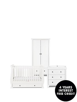 silver-cross-nostalgia-cot-bed-dresser-wardrobe-pure-white