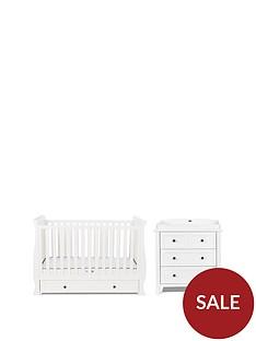 silver-cross-nostalgia-sleigh-cot-bed-dresser--nbspwhite