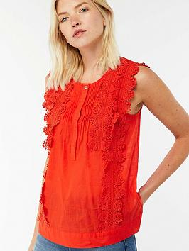 monsoon-anais-lace-sleeveless-top-orange