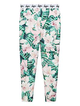 hype-girls-palm-print-waistband-legging