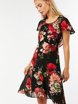 monsoon-francesca-print-shift-dress-blacknbsp