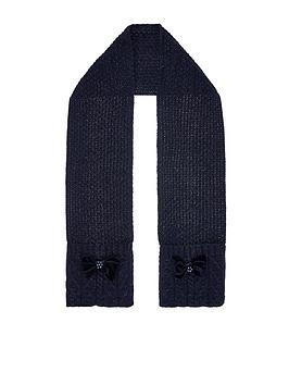 monsoon-girls-ellie-velvet-bow-cable-scarf