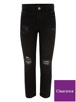 river-island-girls-black-molly-ripped-straight-leg-jeans