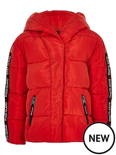 river-island-girls-red-ri-tape-hooded-padded-jacket