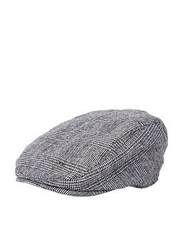 river-island-boys-grey-check-flat-peak-cap