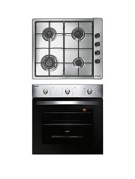 Candy   Coghp60X 60Cm Electric Single Oven &Amp; Gas Hob Pack  - Oven And Hob Pack Only