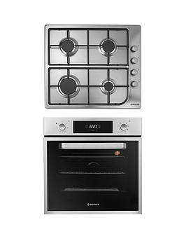 hoover-hprgm60ss-60cm-electric-single-oven-amp-gas-hob-pack-stainless-steel