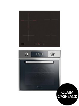 hoover-hprce60ss-60cm-electric-single-oven-amp-ceramic-hob-pack-with-optional-installation-stainless-steel