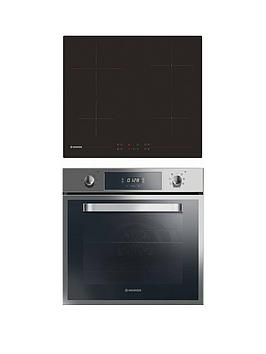 Hoover   Hprce60Ss 60Cm Built-In Electric Single Oven &Amp; Ceramic Hob Pack  - Oven And Hob Pack Only
