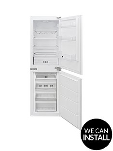 hoover-bhbs172ukt-55cmnbspwide-integrated-fridge-freezer-with-optional-installation-white