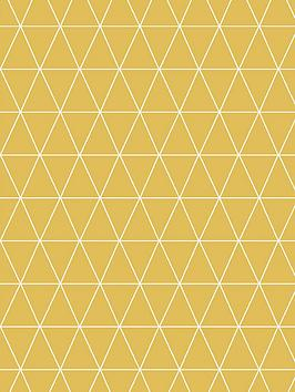 superfresco-easy-triangolin-mustard-wallpaper