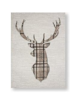 Graham & Brown Graham & Brown Tartan Stag Canvas Picture