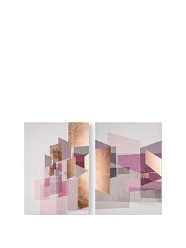 graham-brown-rose-gold-geos-canvas-wall-art