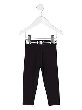 river-island-mini-grls-black-ri-branded-leggings