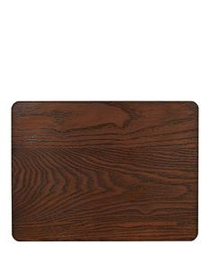 creative-tops-creative-tops-naturals-pack-of-4-wooden-placemats-brown