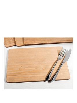 creative-tops-creative-tops-oak-veneer-pack-of-4-placemats