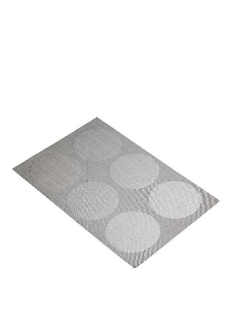 kitchencraft-reversible-grey-spots-placemats-ndash-set-of-6