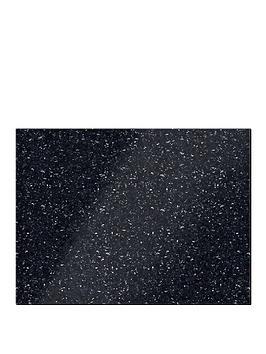 Product photograph showing Creative Tops Naturals Ndash Black Granite Worktop Protector