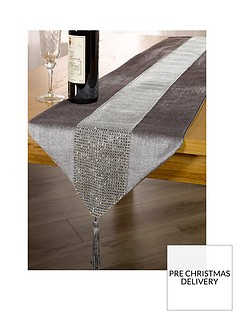 waterside-7-piece-velvet-diamante-christmas-runner-set-in-silver