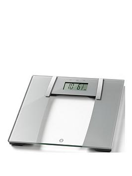 Weight Watchers   Ultra Slim Glass Body Analyser Bathroom Scale
