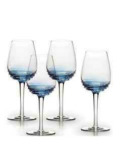 creative-tops-mikasa-swirl-105oz-white-wine-glasses-cobalt-set-of-4