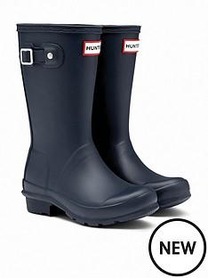 hunter-original-kids-wellington-boots-navy