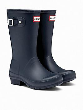 Hunter Hunter Original Kids Wellington Boots - Navy Picture