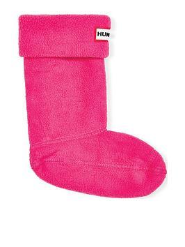 Hunter Hunter Kids Boot Socks - Fuchsia Picture