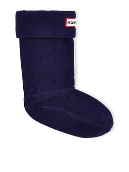 Hunter Hunter Kids Boot Socks - Navy Picture