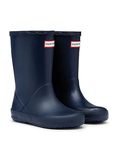 hunter-original-infant-first-classic-wellington-boots--nbspnavy