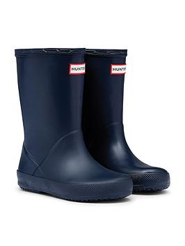 Hunter Hunter Original Infant First Classic Wellington Boots - Navy Picture