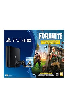 playstation-4-pro-ps4-pro-black-console-with-fortnite-royal-bomber-skin-and-500-v-bucks-plus-optional-accessories-andor-subscriptions