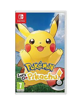 Nintendo Switch Nintendo Switch Pokemon: Let'S Go! Pikachu! - Switch Picture