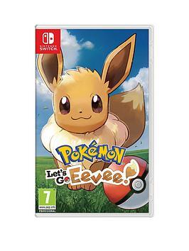 Nintendo Switch Nintendo Switch Pokemon: Let'S Go! Eevee! - Switch Picture