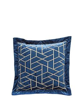 Very Noir Nights Embroidered Cushion Picture