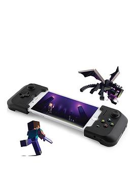 gamevice-gamevice-game-controller-console-for-apple-ios-mobile-amp-travel-gaming-includes-new-minecraft-edition-only-for-uk-germany-amp-france-iphone