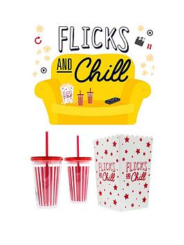 Fizz Fizz Flicks And Chill Movie Night In Set Picture