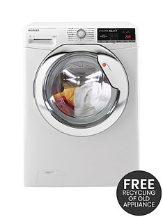 hoover-dynamic-nextnbspwdxoa4106hc-10kg-washnbsp6kgnbspdry-1400-spin-washer-dryer-with-one-touch-whitechrome