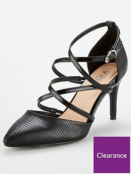 wallis-multi-strap-court-shoe-black