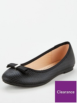 wallis-bow-ballerina-black