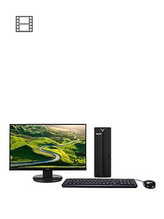 acer-xc-330-amd-e2-4gb-memory-1tb-storage-desktop-pc-with-215in-full-hd-monitor