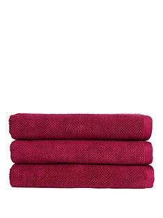 christy-brixton-luxury-textured-100-cotton-towel-collectionnbsp--magenta