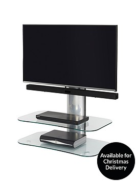 off-the-wall-arc-st-80-cm-tv-stand-silverclear-glass-fits-up-to-32-inch-tv
