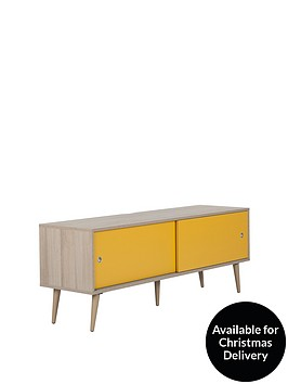 off-the-wall-retro-140-cm-tv-cabinet-oakyellow-fits-up-to-65-inch-tv