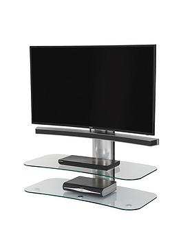 off-the-wall-arc-st-100-cm-tv-stand-silverclear-glass-fits-up-to-46-inch-tv