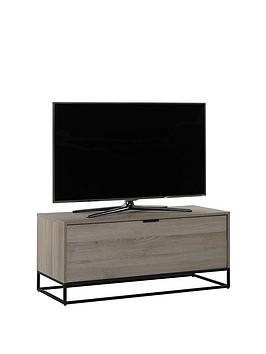 off-the-wall-cube-110-cm-tv-cabinet-oak-effect-fits-up-to-50-inch-tv