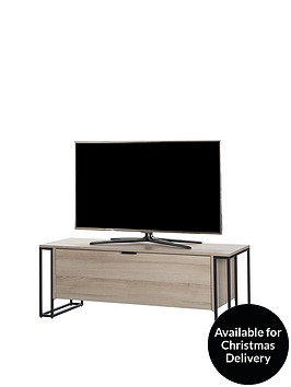 off-the-wall-cube-130-cm-tv-cabinet-oak-effect-fits-up-to-60-inch-tv
